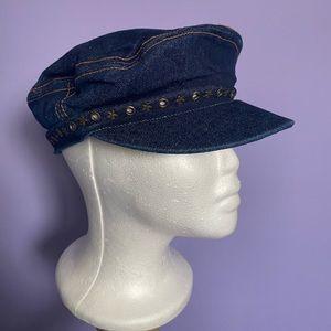 Y2K Denim Cabby Hat